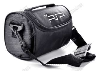Black Travel Carry Bag Case for PSP 1000 2000 3000 Multi functional