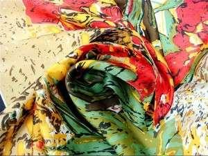35inch 100% Silk Scarf Square Women Bandana Neck Dress Shawl Wrap