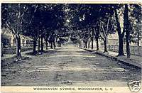 Old Woodhaven Ave Dirt Road, Now Super Blvd, Queens NY