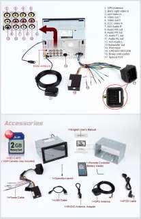 D5101U Eonon Touchscreen 7LCD Car Audio Bluetooth iPod GPS DVD Player