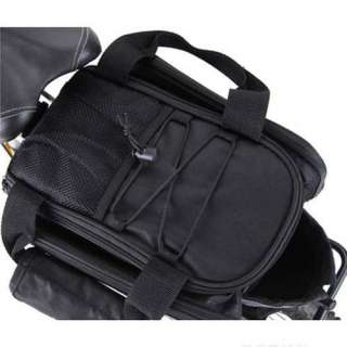 New Bike Bicycle Cycling Rear Seat Pannier Frame Pack Bag Shoulder Bag