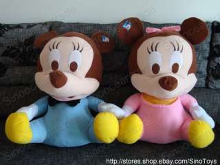 COUPLE OF BABY MICKEY MOUSE AND MINNIE MOUSE HUGE 40