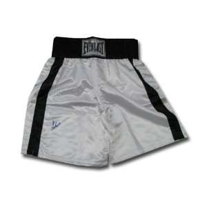 Muhammad Ali Black and White boxing trunks Sports Collectibles