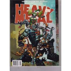 Heavy Metal March 1999 Adult Comic (Corben! Caza! Bisley! Manara! The