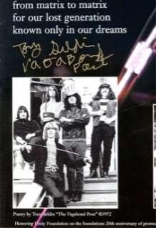 Grateful Dead Janis Joplin Jerry Garcia Fillmore Rock Poster Signed