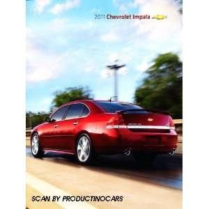 Chevy Impala Original Sales Brochure Catalog