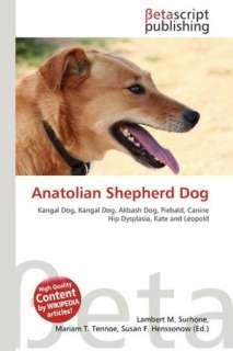 BARNES & NOBLE  Anatolian Shepherd Dog by Lambert M. Surhone