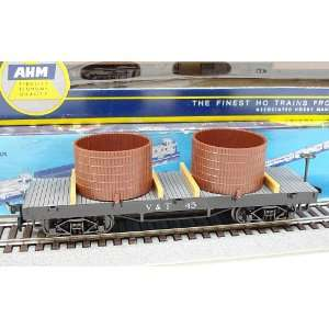 AHM HO Scale Virginia & Truckee Water Tank Car #45 Toys