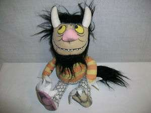1980 Maurice Sendak Where the Wild Things Are Plush Toy