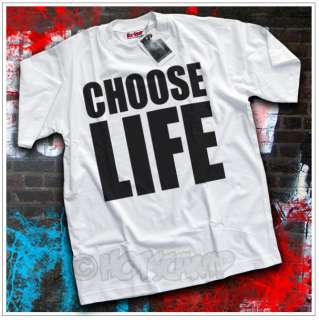 Choose Life T Shirt Wham George Michael 80s Fancy Dress
