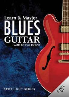 Hal Leonard Learn & Master Blues Guitar 7 DVD Set