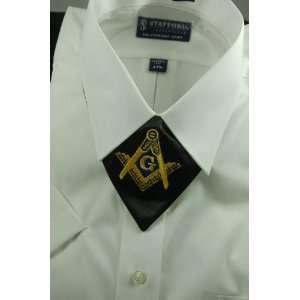 Tie Masonic Cravat Master Mason Square & Compass