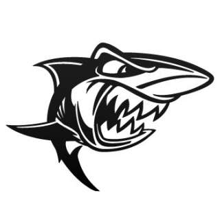 Scuba Dive Decal Sticker Cartoon Vinyl Shark ZZ7WW