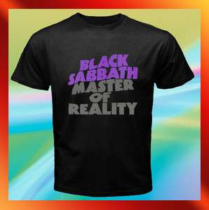 Black Sabbath MASTER OF REALITY Album Vintage Mens T Shirt Sz S M L