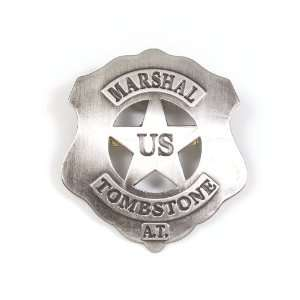 U.S. MARSHAL   TOMBSTONE REPLICA BADGE: Everything Else