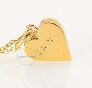 Hearts on Fire 18K Yellow Gold & Diamond Full House Heart Pendant