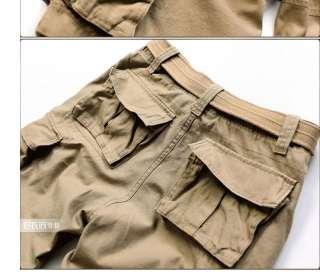 Summer Mens Belted cargo shorts pants Sport short ND52