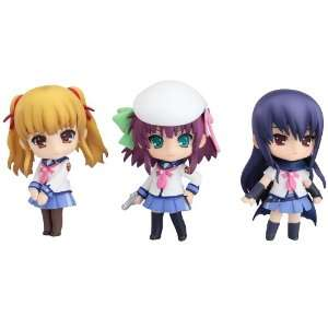 Angel Beats Set 01 Nendoroid Petit PVC Figure Toys & Games