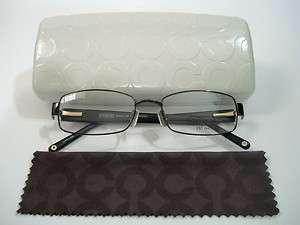 Coach Mona 1008 Dark Brown Eyeglasses Rx Able Frame