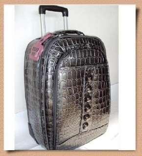 KATHY VAN ZEELAND Glamour Shot 29 Rolling Luggage NWT