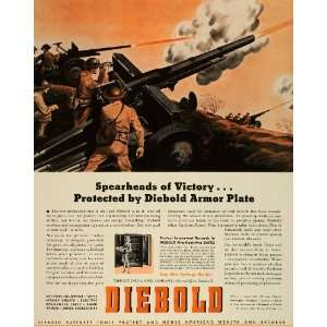 1942 Ad Diebold Safe Lock Business Office Equipment WWII War