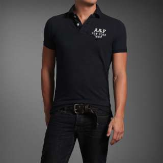 Abercrombie & Fitch by hollister mens Lake Harris Polos Shirt Tee T