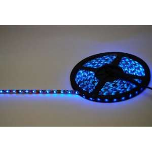 LED Light Strip   Waterproof 12 Volt 300 LEDs (Blue) (.5H x 8.5W x 9