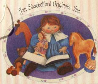 JAN SHACKELFORD SOFT SCULPT 9.5 HAND MADE CLOTH WILLIE LEE DOLL NEW