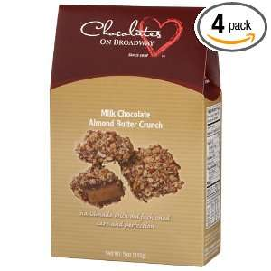 Chocolates on Broadway Milk Chocolate Covered Almond Butter Crunch, 5