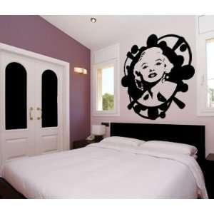 Wall Art Sticker Vinyl Decal Marilyn Monroe Norma Jean