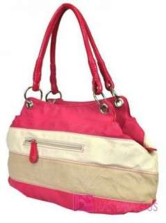 Licensed Stripe BETTY BOOP Tote Bag Handbag Purse Pink