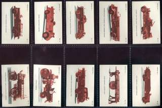 Tobacco Card Set,Benson & Hedges Canada, ANCIENT & MODERN FIREFIGHTING