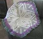 ROUND LACI Baby Afghan Crochet Pattern (026) by REBECCA LEIGH  44