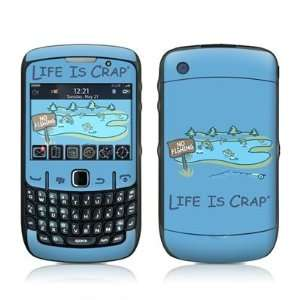 No Fishing Design Skin Decal Sticker for Blackberry Curve