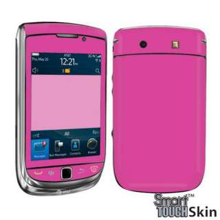 HOT PINK DECAL SKIN FOR BLACKBERRY TORCH 9800