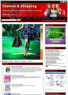 Money Making Fashion & Shopping Tips Affiliate Website