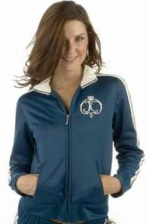 NWT Juicy Couture Crest Track Jacket $128 Sport S Hitch