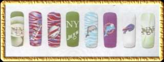 Airbrush STENCIL Designs Nail art NewYork Sports #nxs5