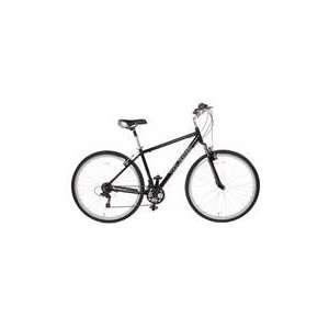 C2 Mens 700c Hybrid Bicycle 21 Speed 18 Black Sports