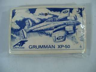 Airframe Grumman XP 50 1/72 Scale Model Airplane Kit 14