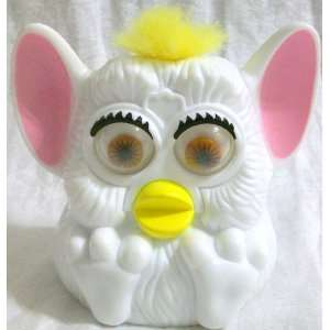 Mcdonalds Happy Meal Furby Baby, 5 White with Pink Ears