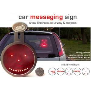 Drivemocion LED Car Message Sign Sorry Toys & Games