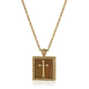 The Vatican Library Collection Gold Tone Simulated Tiger