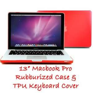 13 Apple Macbook Pro   With TPU Transparent Protective Keyboard Cover