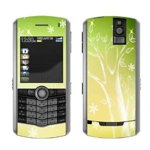 Yellow Green Tree Decorative Skin Decal Cover Sticker for