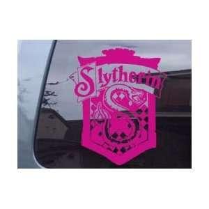 Harry Potter Slytherin Crest Girl Car Ipad Laptop Vinyl