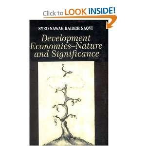 : Syed Nawab Haider Naqvi: 9780761996286:  Books