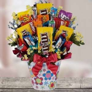 Chocolate Galore Candy Bouquet
