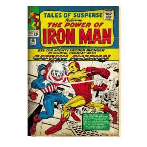 Marvel Comics Retro The Invincible Iron Man Comic Book