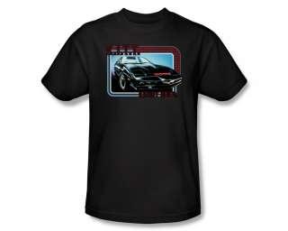 Knight Rider KITT Photo NBC 80s TV Show T Shirt Tee